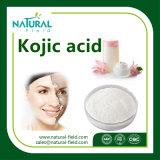 El mejor precio de la alta calidad de la piel que blanquea el ácido cójico ácido cójico del polvo el 99%