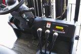 자유롭게 드는 1000kg 3 바퀴 새로운 건전지에 의하여 운영하는 전기 포크리프트 충분히
