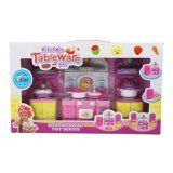장난감을의 가장한다 요리하는 부엌 교육 집, 냉장고 세트를 농담을 한다