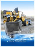 7 monitor impermeable del vehículo de la visualización de color de la pulgada TFT-LCD
