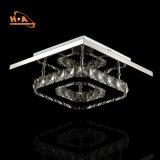 Lámpara ligera cristalina moderna modificada para requisitos particulares del LED para los restaurantes