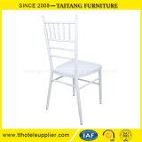 Material blanco del hierro de la silla de Tiffany de la silla de Chiavari de los acontecimientos populares de la boda
