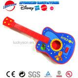 Brinquedo plástico da música da guitarra da alta qualidade para a promoção do miúdo
