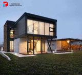 Ontwerp van de Villa van het Staal van de luxe cementeert het Prefab, Vuurvaste Cement Geprefabriceerde Villa
