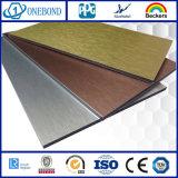 Comitato composito di alluminio spazzolato di rivestimento per la decorazione