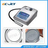 Impression continue de code en lots d'imprimante à jet d'encre d'imprimante dissolvante (EC-JET300)
