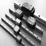 低価格の線形アクチュエーター黒ガイドのブロックおよび柵