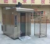 Forno rotativo diesel della cremagliera della grande di panificazione di caratteristichi macchina del forno