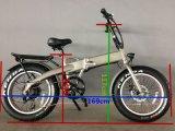 إطار العجلة سمين يخفى بطارية [250و] [فولدبل] كهربائيّة درّاجة [إن] 15194