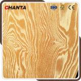 Madera contrachapada grabada madera contrachapada impermeable del alerce del pino de la junta del dedo de la tarjeta de Rusia China Constrction