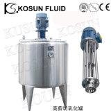 El tanque de disolución de mezcla del azúcar de alta velocidad del jarabe del acero inoxidable