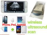 Scanner senza fili portato a mano di ultrasuono per il iPhone del iPad