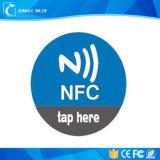 Cifro la etiqueta de la escritura de la etiqueta del papel del PVC del Hf NFC del diámetro 30m m de Sli ISO15693