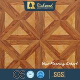 Plancher en bois stratifié absorbant le son de 12,3 mm pour le ménage et le vinyle