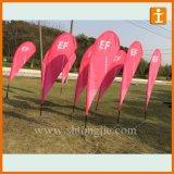 Оптовое знамя PVC, знамя винила, рекламируя знамя PVC гибкого трубопровода (TJ-003)