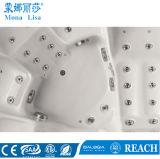 5개의 사람 호화로운 수력 전기 물 기포 제트기 소용돌이 안마 아크릴 온천장 욕조 (M-3354)