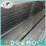 Pipe en acier carrée galvanisée par A53 épaisse personnalisée reçue du support ASTM de mur