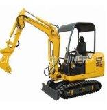 180 72 trilhas da borracha da máquina escavadora de Crawer da construção mini