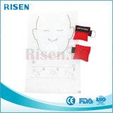 Máscara de respiração descartável do CPR da promoção barata feita sob encomenda do logotipo