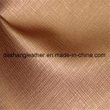 De hete Verkopende Producten van het Leer van de Textiel van het Leer van Pu Synthetische (c-161)