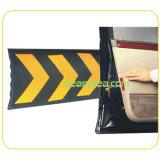 Protezione di gomma della parete del garage di figura di colore nero & giallo C (DH-WP-5)