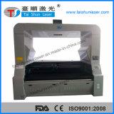 Большой автомат для резки лазера CCD ткани системы 800X500mm зрения