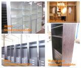 Шкаф шкафа шкафа N&L деревянный с сползать двери шкафа зеркала