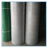 Rete di plastica bianca delle metalline del piatto della maglia