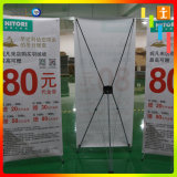 60*160cm/80*180cm de OpenluchtX Banner van de Tribune van het Type voor Bevordering