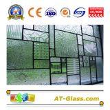 vetro di vetro modellato/reticolo di 3~8mm usato per il portello della finestra