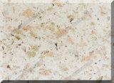 Partie supérieure du comptoir extérieure solide de pierre artificielle de quartz pour la cuisine