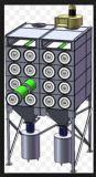 大きい防空情報審査地域のカートリッジ集じん器