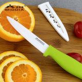 ジルコニウム酸化物のキャンプのための外装が付いている陶磁器のフルーツのナイフ
