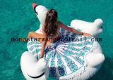 Algodón impreso alrededor de la toalla de playa del círculo con alta calidad