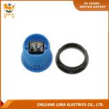 電気33.4mmの押しボタンスイッチ青いPbs-009