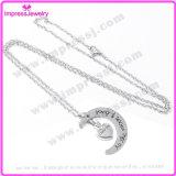 Hart met Roestvrij staal van de Tegenhangers van de Juwelen van de Crematie van de Halsband van het Ontwerp van de Maan het Herdenkings
