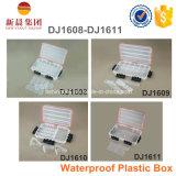 Caixa de pesca impermeável e transparente para pesca
