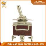 Interrupteur à bascule bipolaire de terminal de vis de Lema Lt120b mini
