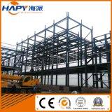 Construction en acier dans la Chambre de volaille avec le matériel automatique professionnel