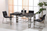 Fabrik-Verkaufs-neues Modell-hoch Rückseite PU, die Stuhl-Möbel speist