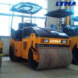 Ltma rouleau de route vibratoire de plein double tambour hydraulique de 3.5 tonnes