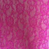 Ткань шнурка Knit Raschel новой конструкции изготовления Nylon