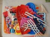 札入れまたは袋のための高周波溶接PVCロゴか浮彫りになる機械装置