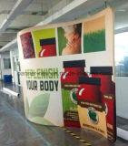 Стойка выставки ткани напряжения портативная, стойка индикации, торговая выставка (KM-BSH6)