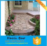 Molde concreto da pedra de pavimentação