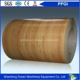 Il legno/marmo/mattone/camuffamento/diamante hanno impresso la bobina d'acciaio ricoperta colore stampata reticolo PPGI