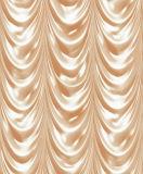 Le rideau aiment le papier de mur décoratif imperméable à l'eau de PVC de papier peint 3D pour le décor à la maison