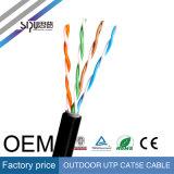 Câble extérieur de cuivre de réseau de Sipu UTP Cat5e avec du ce