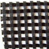 animale domestico di lavoro a maglia Geogrid del poliestere dell'involucro di 20-1200kn/M