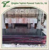 Venta caliente y duradero de la madera contrachapada película hizo frente con el logotipo para la decoración y construcción